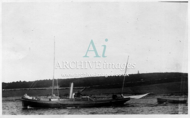 Scilly Isles Govenors launch Tresco 1912 CMc