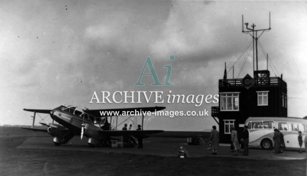 Scilly Isles airport st marys c1955 CMc