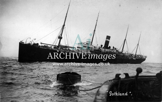Scilly Isles Red Star Line SS Gothland wreck CMc