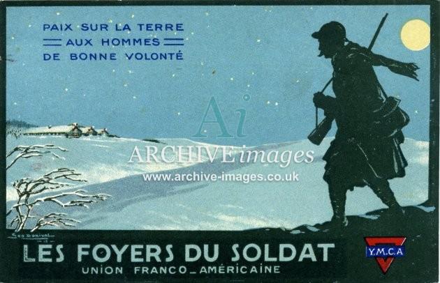 World War One YMCA poster advert CMcjpg