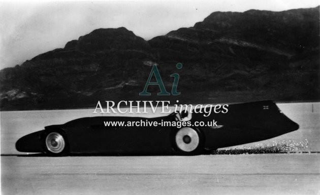 Motoring Bluebird Land Speed Record Malcolm Campbell CMc