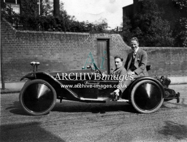 Motoring Vintage 1920s cyclecar CMc
