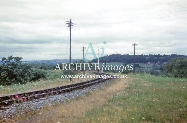 Ledbury Junction, Dymock Branch B 29.7.61