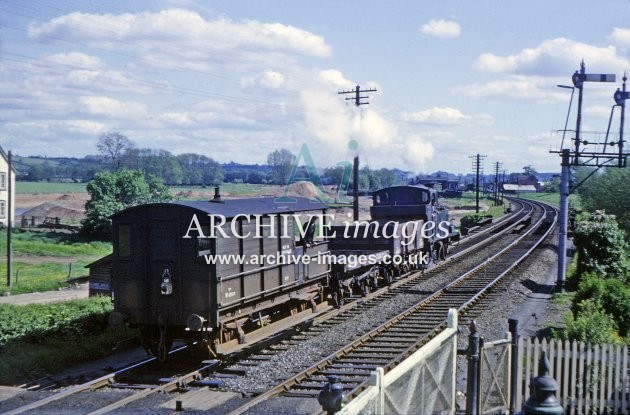 Kington Branch Junction, near Leominster, No. 1420, 1964