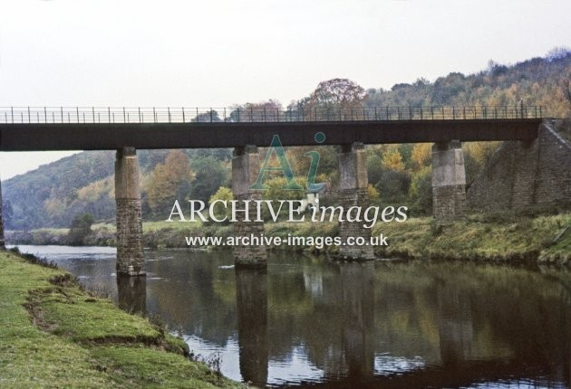 Ballingham Bridge, River Wye c1962