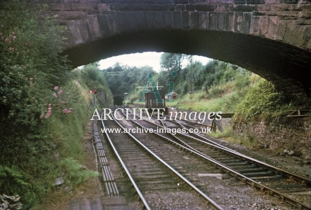 Fawley Station, goods siding & tunnel 8.63