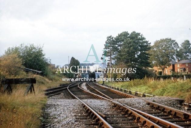 Fawley station, Hereford-Glos train 10.64