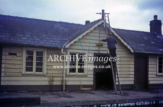 Hay on Wye Railway Station 1964