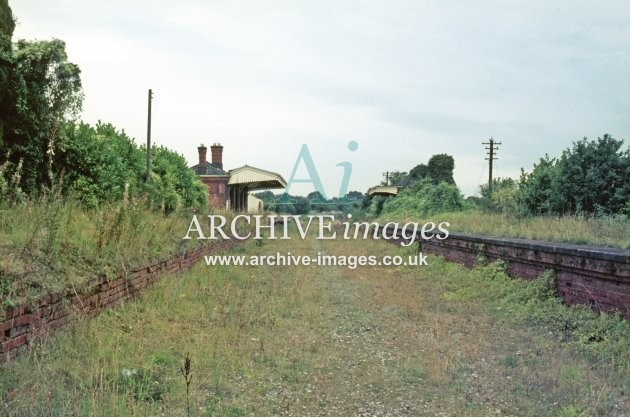 Mitcheldean Road station, closed 13.9.70