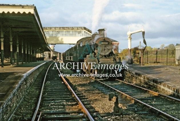Ross on Wye station, last Lydbrook goods 11.65 B