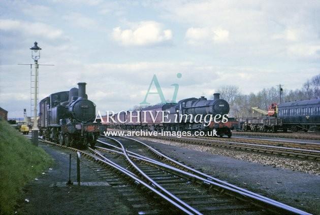 Leominster Station Yard 1964