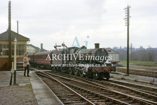 Ross on Wye station No 6872 Crawley Grange Hereford-Glos 4.64 C