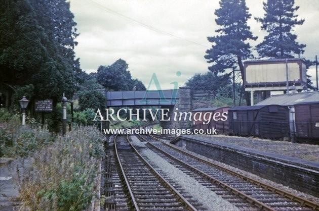 Bromyard Railway Station 1961