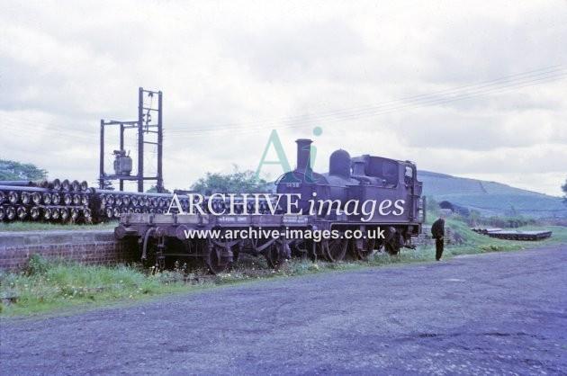 Kington Railway Station Yard 1964