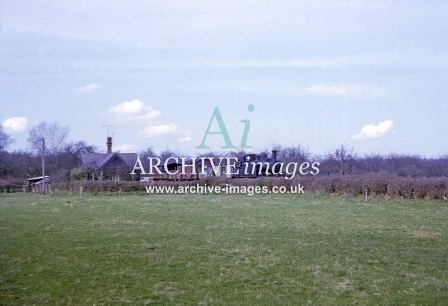 Kington Branch Cobnash Crossing 1964