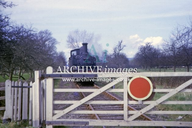 Kington Branch Level Crossing 1964