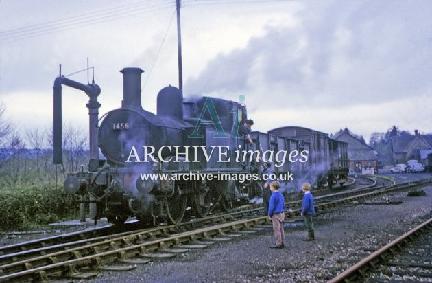 Kington Railway Station Shunting 1964