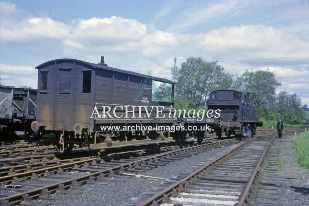 Kington Railway Station Shunting 1964