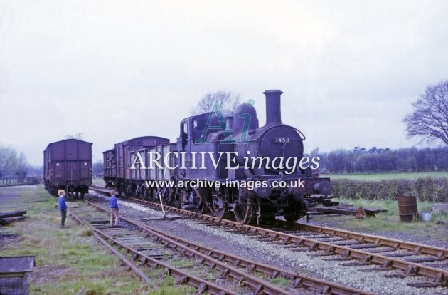 Kington Railway Station Yard 1964
