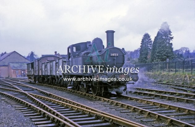 Kington Railway Station Goods Yard 1964
