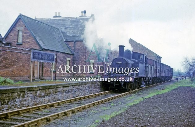 Pembridge Railway Station 1964
