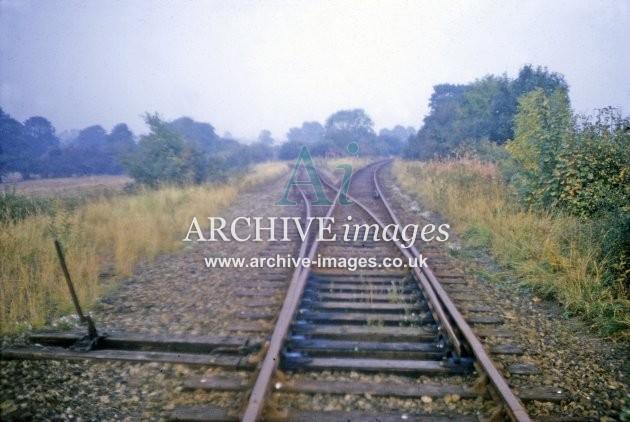 Titley, Presteign Branch Junction 1964