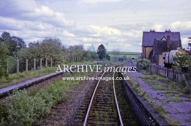 Titley Junction Railway Station 1964