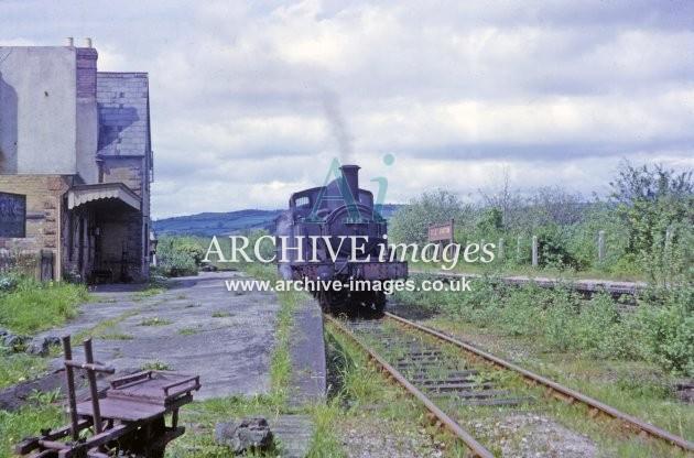 Titely Junction Railway Station 1964