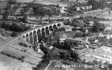 St Austell Trenance Viaduct Aerial View c1930