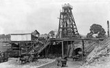 Mells Colliery near Coleford, Pit Head c1920
