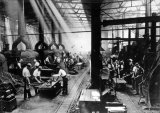 Gloucester Railway Carriage & Wagon Co Ltd, 1924. Blacksmiths Shop.