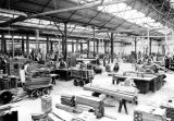 Gloucester Railway Carriage & Wagon Co Ltd, 1924. Carpentry Shop.