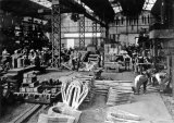 Gloucester Railway Carriage & Wagon Co Ltd, 1924. Axles Boxes being made.