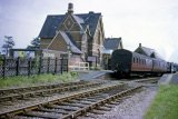 Terminus of the line by this date. Return working to Ashchurch on 12th August 1961.