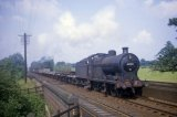 No. 44263 slogs up the Lickey Bank with a goods train in July 1963