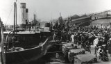 Liverpool River Mersey Ferry & Landing c1890 MD