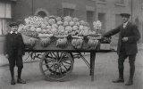 Edwardian Fruit Seller & Handcart MD