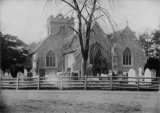 Hurst Church near Twyford c1885 MD