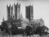 Lincoln Cathedral c1885 MD