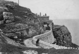 c1890s view of lighthouse on Great Orme, Llandudno