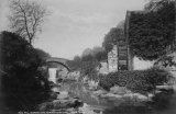 Jesmond Dene Mill & Bridge, nr Newcastle c1885 MD