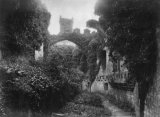 Conway Castle, Ivy Covered Walls c1890 MD