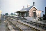 An overall view of Binegar station in August 1962