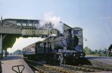 No. 2217 calls at Glastonbury & Street with the 2.20pm Highbridge to Templcombe train on 29th September 1964