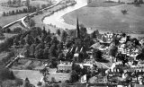 Ross on Wye, aerial view B