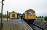 Gunnislake Railway Station & DMU 1971