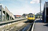 Bere Alston Railway Station & DMU 1971