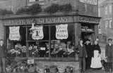 C Howard, Edwardian Grocers Shopfront MD