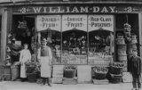 William Day, Edwardian Grocer, Shopfront MD