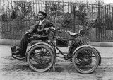 Edwardian 4-Wheeled Motorcycle Car MD